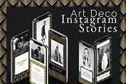 Art Deco Instagram Stories