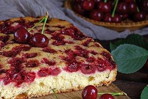 biscuit cherry pie