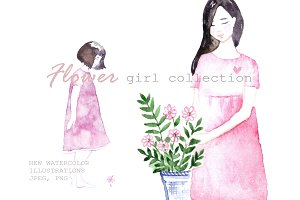 Flower girl collection