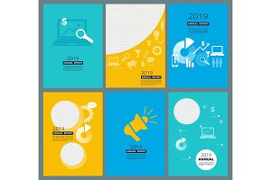Annual reports covers. Business