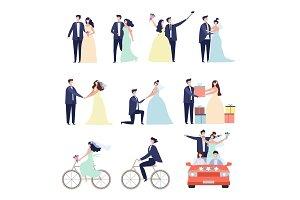Wedding ceremonial bundle. Marriage
