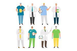 Doctors characters set