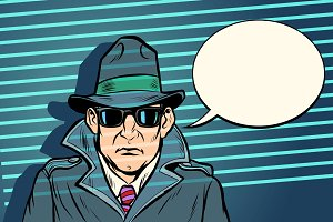 spy secret agent