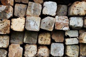 Lumber butts texture
