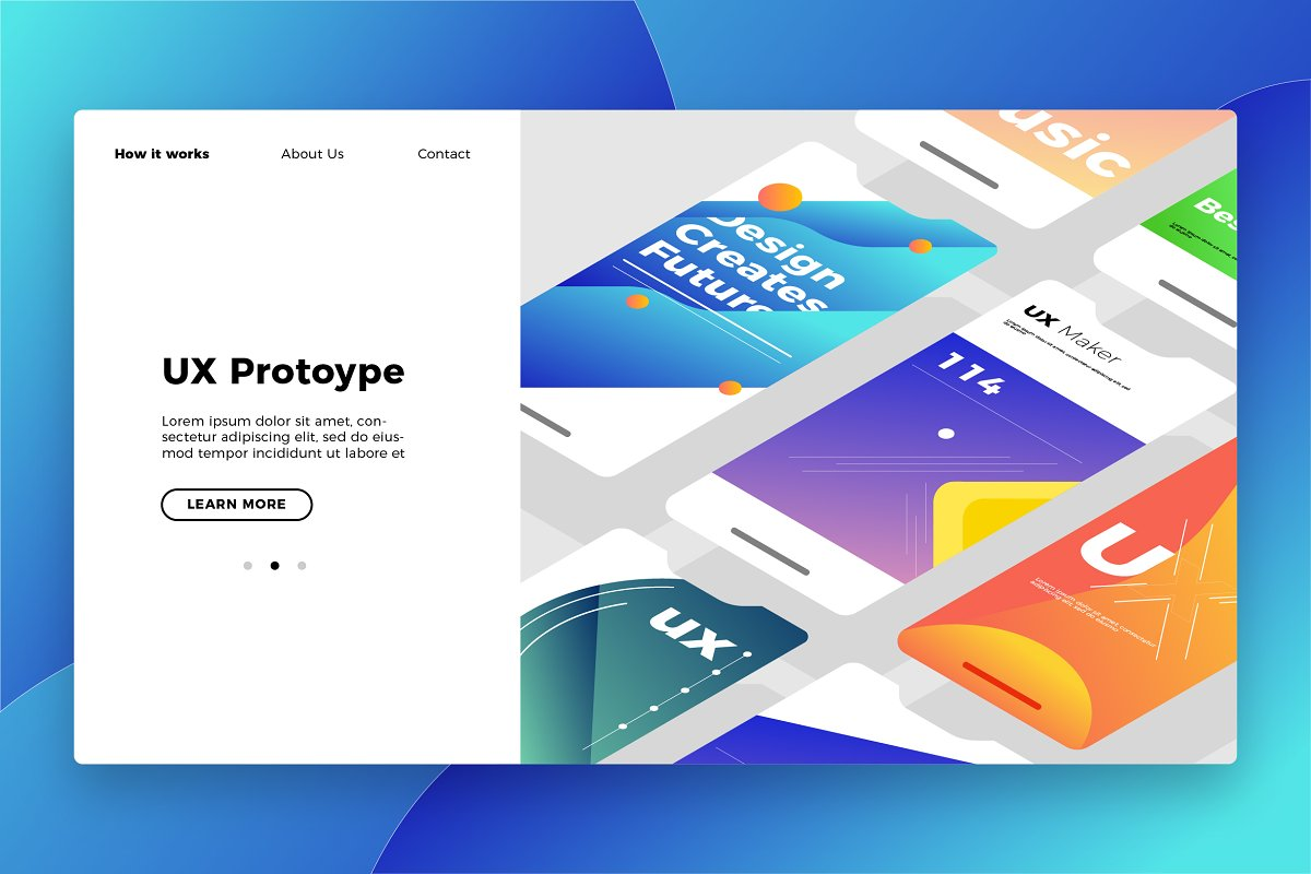 UX Prototype - Banner & Landing Page
