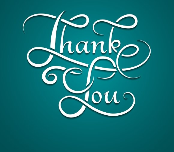 Thank You Lettering Calligraphy Graphics Creative Market