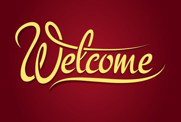 Challenger image for welcome sign template