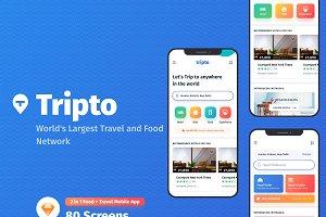 Tripto - Hotel & Food Mobile App