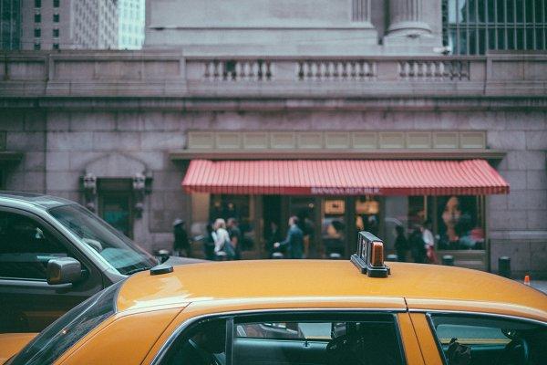 Transportation Stock Photos: AP PRØJECT - New York City Taxi
