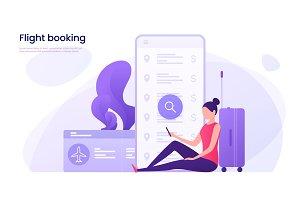 Flight tickets online booking