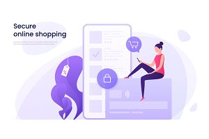 Secure online shopping, protected