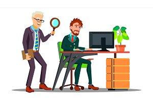 Business Espionage, Employee Holding