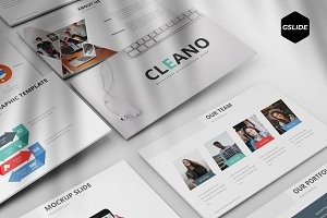 Cleano - Google Slide Template