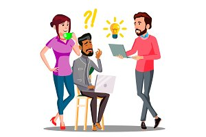 Brainstorming, Office Employees
