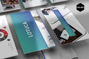 Lotuca - Google Slide Template