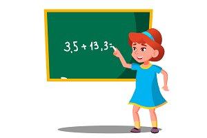 Schoolgirl Solves A Mathematical