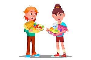 Healthy Food For Little Children