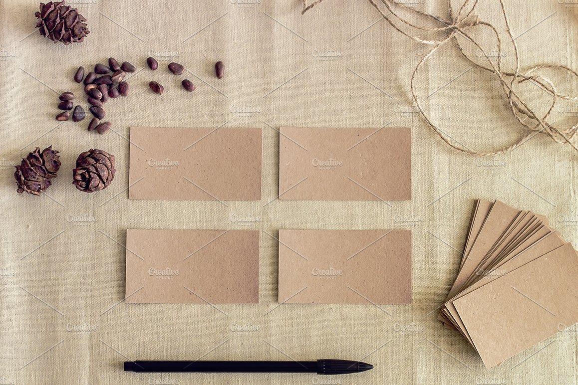 Mockup. Business cards. ~ Product Mockups ~ Creative Market