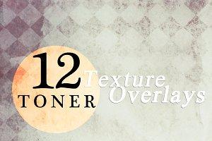 Toner Texture Overlays