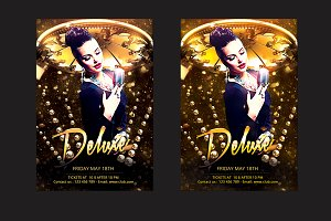 Deluxe Party Flyer