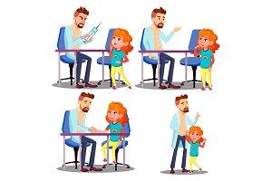 Pediatrician Vaccinating Scared