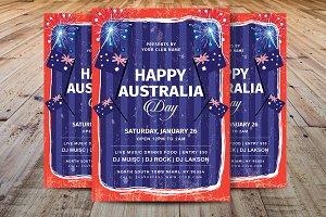Happy Australia Day Flyer