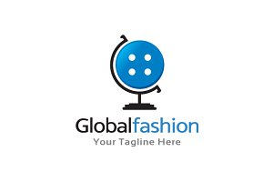 Global Fashion Logo Template