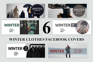 6 Winter Clothes Facebook Covers