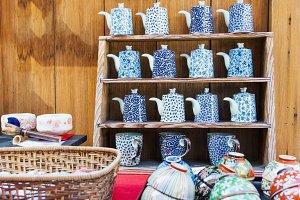 Japanese Asian style ceramics