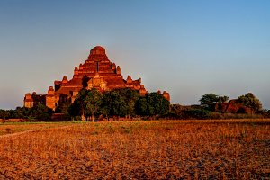 Panorama of Dhammayangyi temple at s