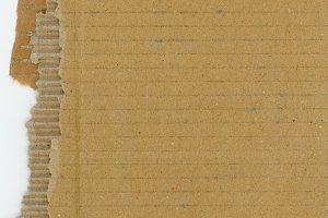 brown corrugated cardboard texture b
