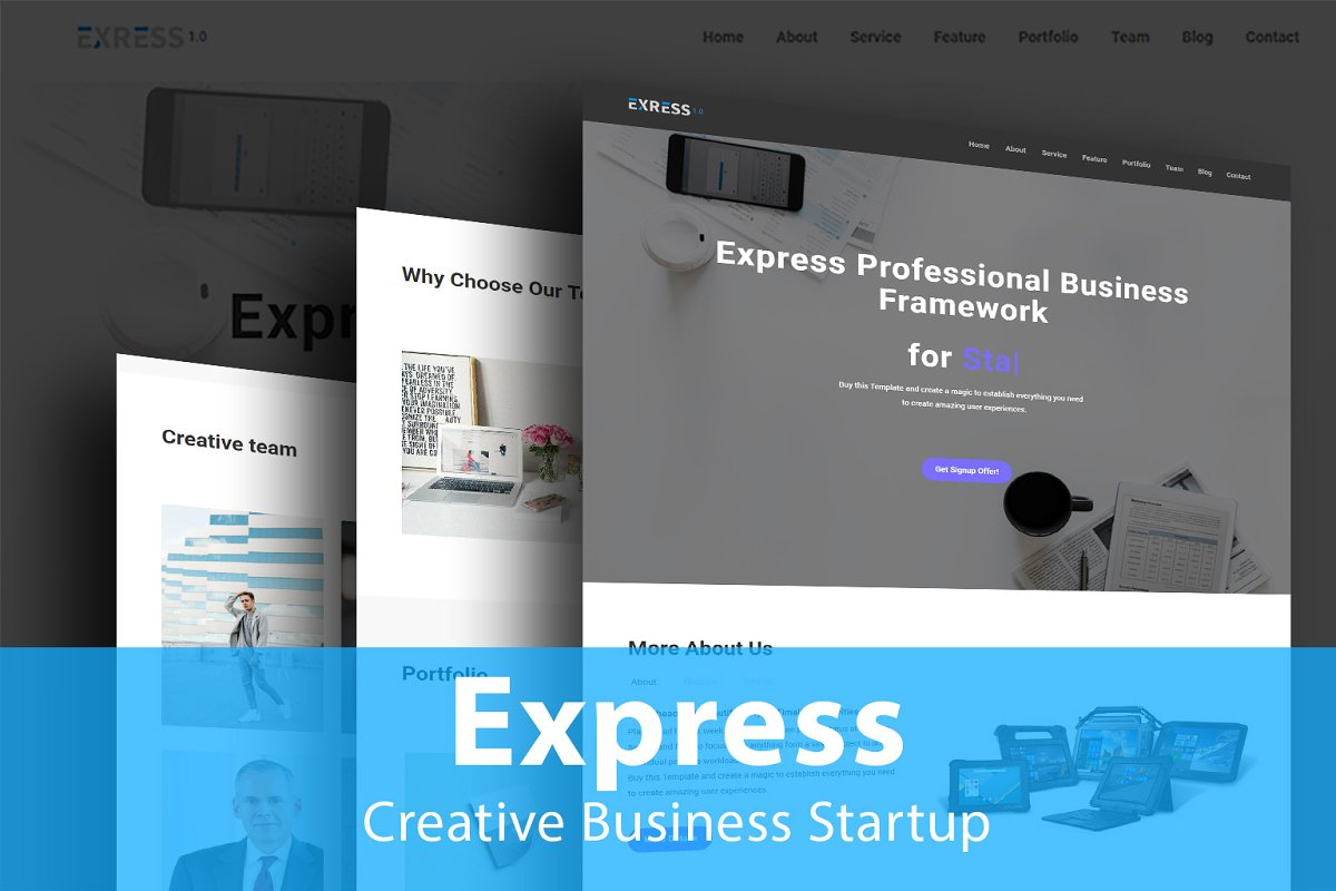 Express-Creative Business Startup