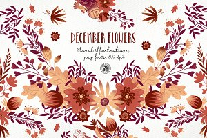 December Flowers ver.2018