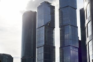 Skyscrapers, Moscow, Russia