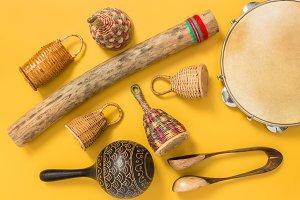 Ethnic percussion instruments