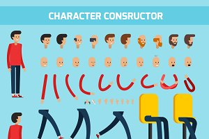 Male character constructor set