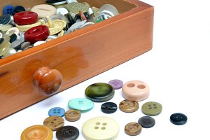 buttons in a drawer