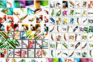 Mega set of abstract backgrounds