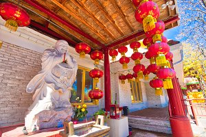 Scenic Buddhist Cham Shan Temple