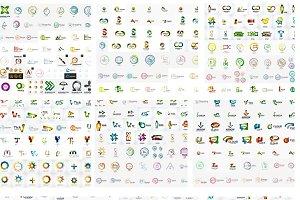 Jumbo logos set