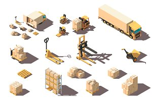 Set components of warehouse