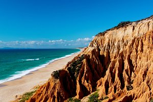 Praia da Vigia, Portugal
