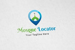 Mosque Locator - Logo Template