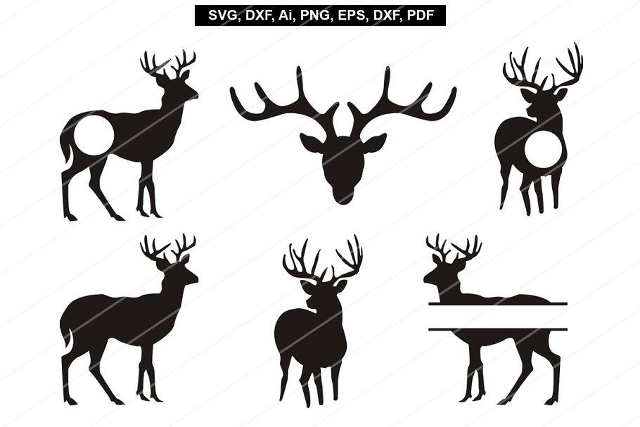 Deer svg,Reindeer svg,Cricut files