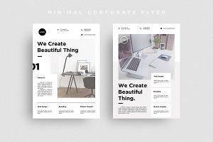 Minimal Corporate Flyer