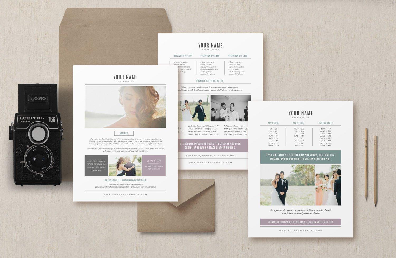 Sale venice pricing guide set brochure templates for Brochure design pricing