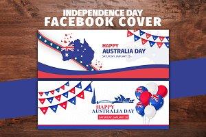 Happy Australia Day Facebook Cover