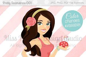 Pretty Seamstress 001- Character