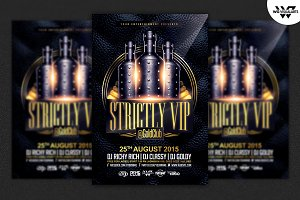 LUXURY VIP Flyer Template