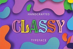 Classy - Vintage Font